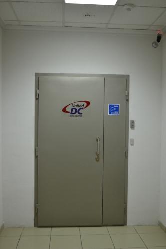 Вход в дата центр United DC
