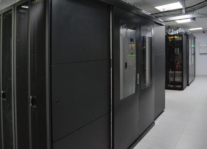 Фото модуля дата центра United DC